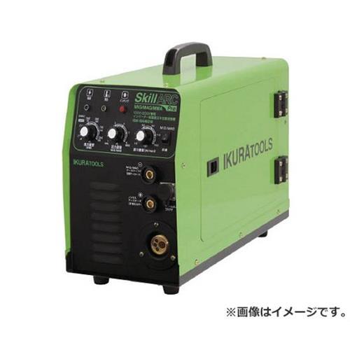 イクラ(育良精機) 100V・200V兼用半自動溶接機 ISKSA160W [r20][s9-940]