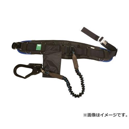 KH エアー式補助帯付安全帯 じゃばら式 タフアルミ 自在環 アロッキー 黒/青 HWBLKB [r20][s9-910], 河東郡:b2b60719 --- maff.jp
