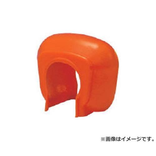 TRUSCO 単管クランプカバー 100個入 オレンジ TTCKOR [r20][s9-910]