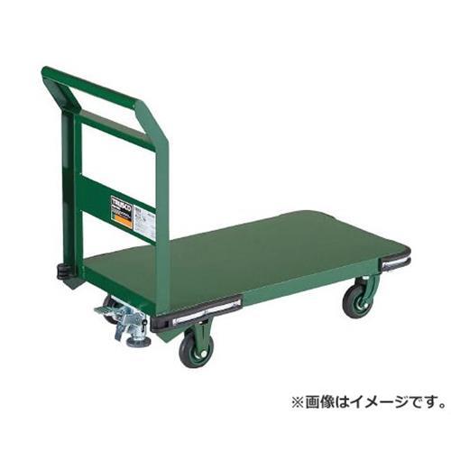 TRUSCO 鋼鉄製運搬車 800X450 Φ100鋳物車輪 LS付 OH3SS [r20][s9-930]
