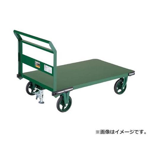 TRUSCO 鋼鉄製運搬車 1200X750 Φ200鋳物車輪 LS付 OH1SS [r21][s9-930]