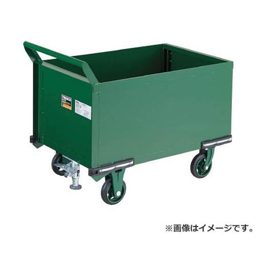 TRUSCO 鋼鉄製運搬車 900X600 前方トビラ LS付 OH24PSS [r20][s9-940]