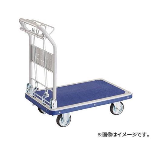 TRUSCO ドンキーカート 折畳 810×510 ハンド式 ピン式2輪S付 201NKHBS [r20][s9-910]