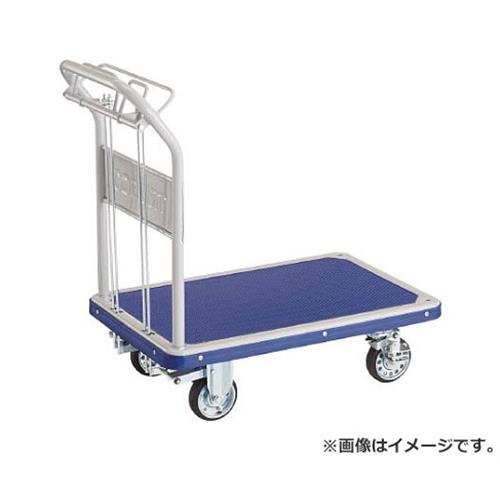 TRUSCO ドンキーカート 折畳 810×510 ハンド式 ピン式4輪S付 201NJKHB4S [r20][s9-920]