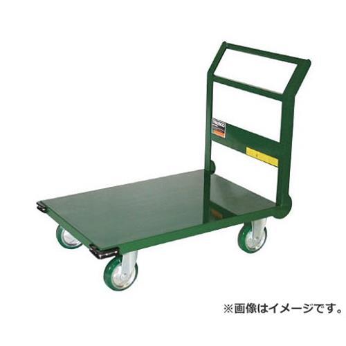 TRUSCO 鋼鉄製運搬車 1200X750 Φ200ウレタン車 緑 SH1NUGN [r20][s9-930]