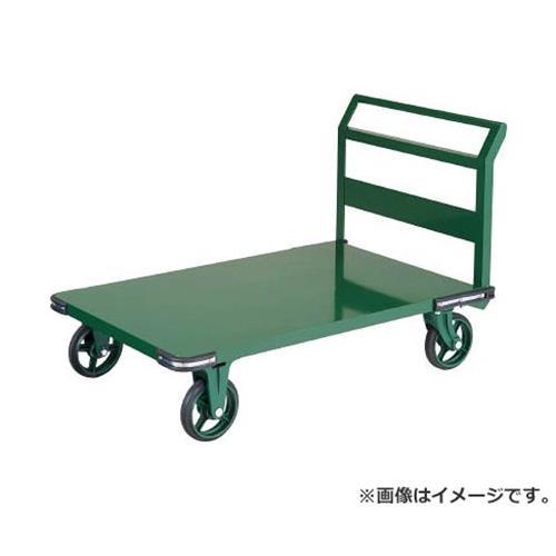 TRUSCO 鋼鉄製運搬車 800X450 ハンドル側自在車 鋳物車輪 OH3R [r20][s9-920]