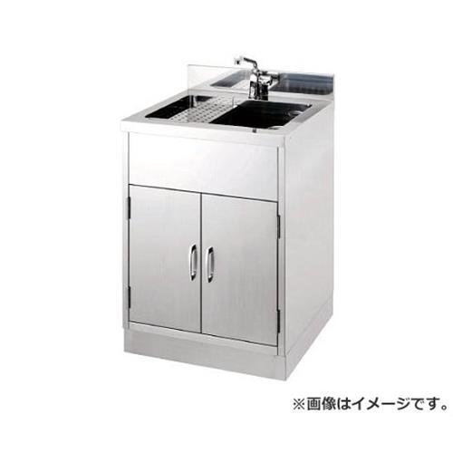 テラオカ 小型瓶用洗浄機付流し台 10110401 [r22]