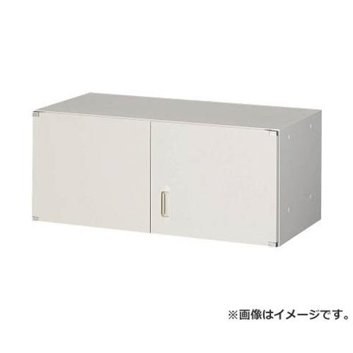 TRUSCO U型壁面書庫 両開き H380 W色 UHW4 [r20][s9-910]