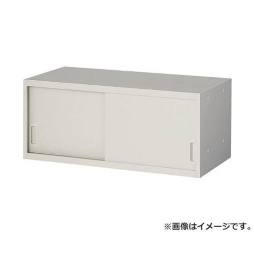 TRUSCO U型壁面書庫 スチール引違い H380 上置専用 W色 USW4 [r20][s9-920]