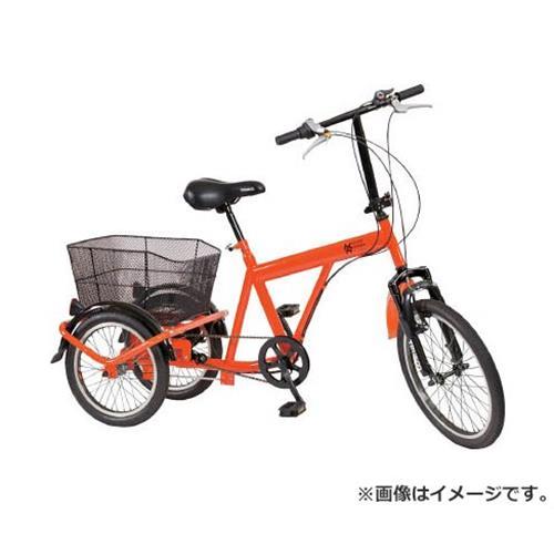 TRUSCO 構内・災害時用ノーパンク三輪自転車