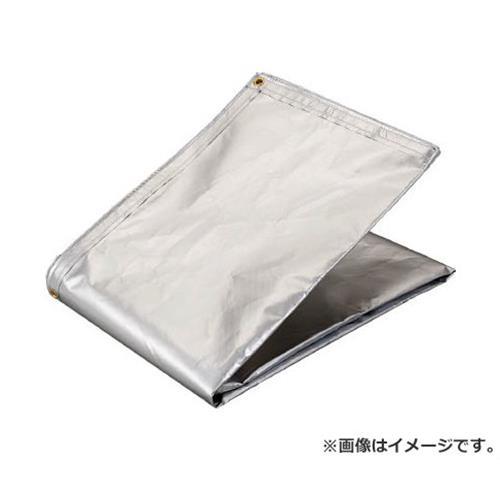 TRUSCO アルミ蒸着塩ビ遮熱シート 1.8×3.6M TRSPC1836 [r20][s9-910]