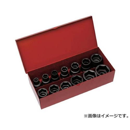 TRUSCO インパクト用ソケット13個組セット 差込角12.7mm T413SET [r20][s9-910]