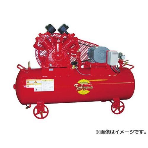 富士 汎用空冷二段圧縮コンプレッサ 50Hz W32PMT5 [r20][s9-910]