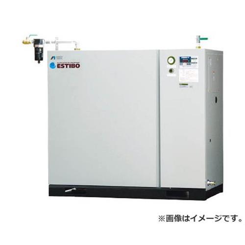 アネスト岩田 オイルフリーブースターコンプレッサ 5.5KW 50Hz CFBS55BF14M5 [r21][s9-940]