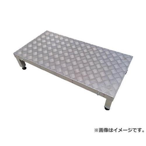 アルインコ連結式アルミ作業用踏台1段(天板縞板タイプ)LFSLFS0906H