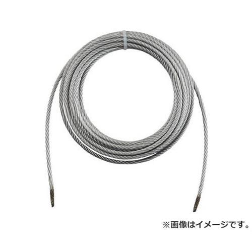 TRUSCO 手動ウインチ用ワイヤーΦ8×30M用(切りっ放し) WW830 [r20][s9-910]