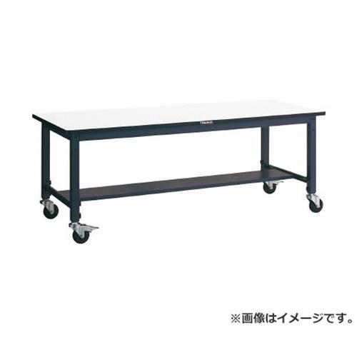 与え 直送品 定番から日本未入荷 代引不可 r20 s9-833 TRUSCO φ100キャスター付 AWMS型高さ調節作業台 900X600 AWMS0960C100