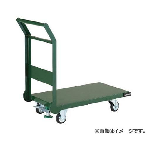 TRUSCO 鋼鉄製運搬車 1200X750 Φ200プレス車 LS付 SH1NSS [r21][s9-930]