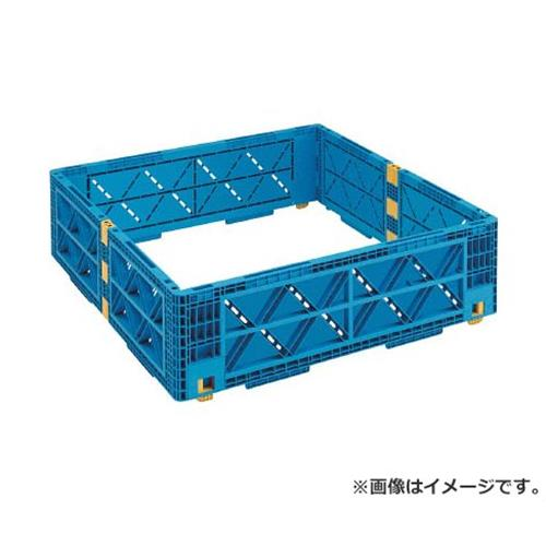 TRUSCO TMSC型コンテナ用レイヤー 1100X1100 青 TMSCL1111B [r20][s9-910]