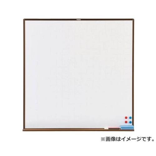 TRUSCO スチール製ホワイトボード 白暗線 ブロンズ 900X900 WGH33SA (BL) [r20][s9-910]
