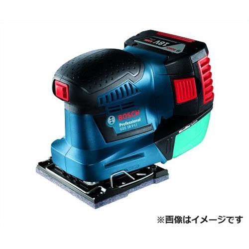 [最大1000円OFFクーポン] ボッシュ オービタルサンダー GSS18V-LIH [bosch 工具 サンダー 電動 バッテリー 研削 研磨 吸ジン]