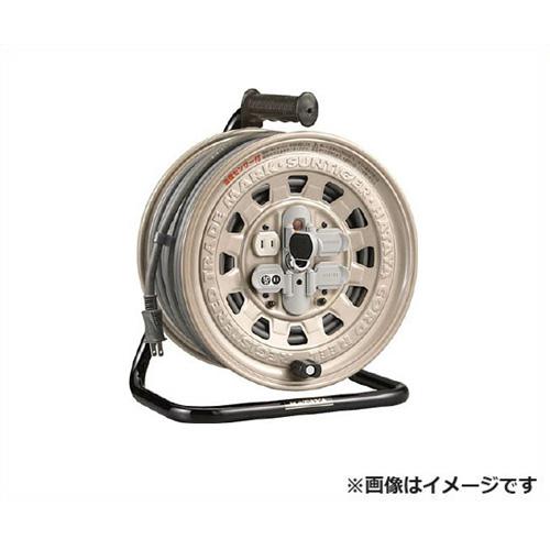[最大1000円OFFクーポン] ハタヤ サンタイガーリール GT-50 [ソフトム ケーブル コードリール 100V 標準 防塵 温度センサー HATAYA]