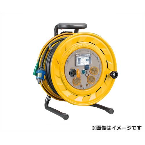 [最大1000円OFFクーポン] ハタヤ ブレーカーリール BS-301K [BR型 漏電遮断器 100V ネームプレート 温度センサー 防塵キャップ 接地付 HATAYA]