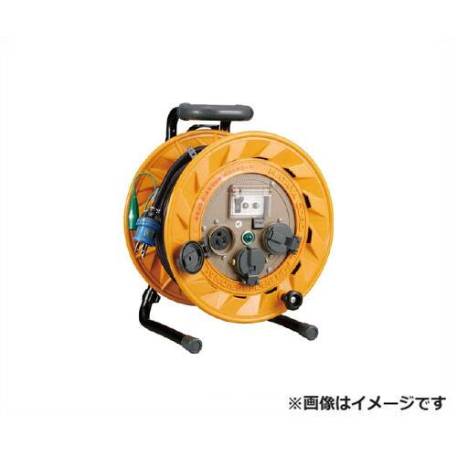 [最大1000円OFFクーポン] ハタヤ ブレーカーリール BR-201KX [BR型 漏電遮断器 100V ネームプレート 温度センサー 防塵キャップ 接地付 HATAYA]