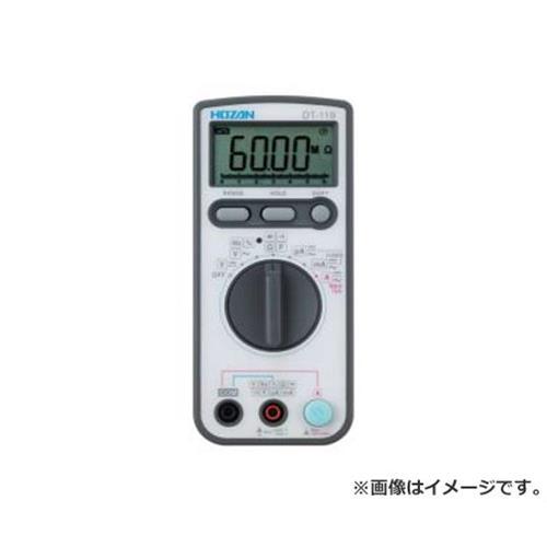 ホーザン デジタルマルチメータ DT119TA [HOZAN 測定器 導通 マルチメーター テスター 校正証明書 DT-119-TA]