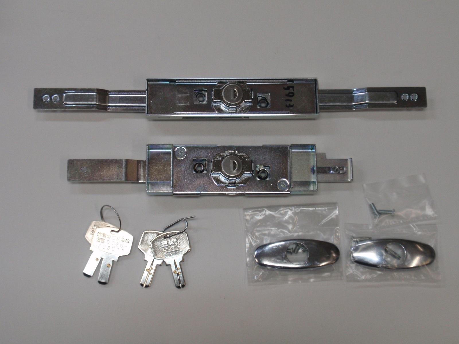 取替用シャッター錠 同一キータイプシャッター錠 三和シャッター (新型)KS-29 & アクアキー ウォーターロック 水圧錠 ディンプルキー 2個セット同一キータイプ 特注品 SANWA サンワ 防犯 鍵 交換 取替