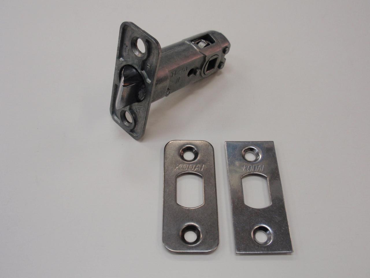 レバーハンドル錠のラッチだけ替えたい! KODAI 古代 NAGASAWA 長沢製作所 レバーハンドル用ラッチ TL-51 (角フロント・Rフロント)