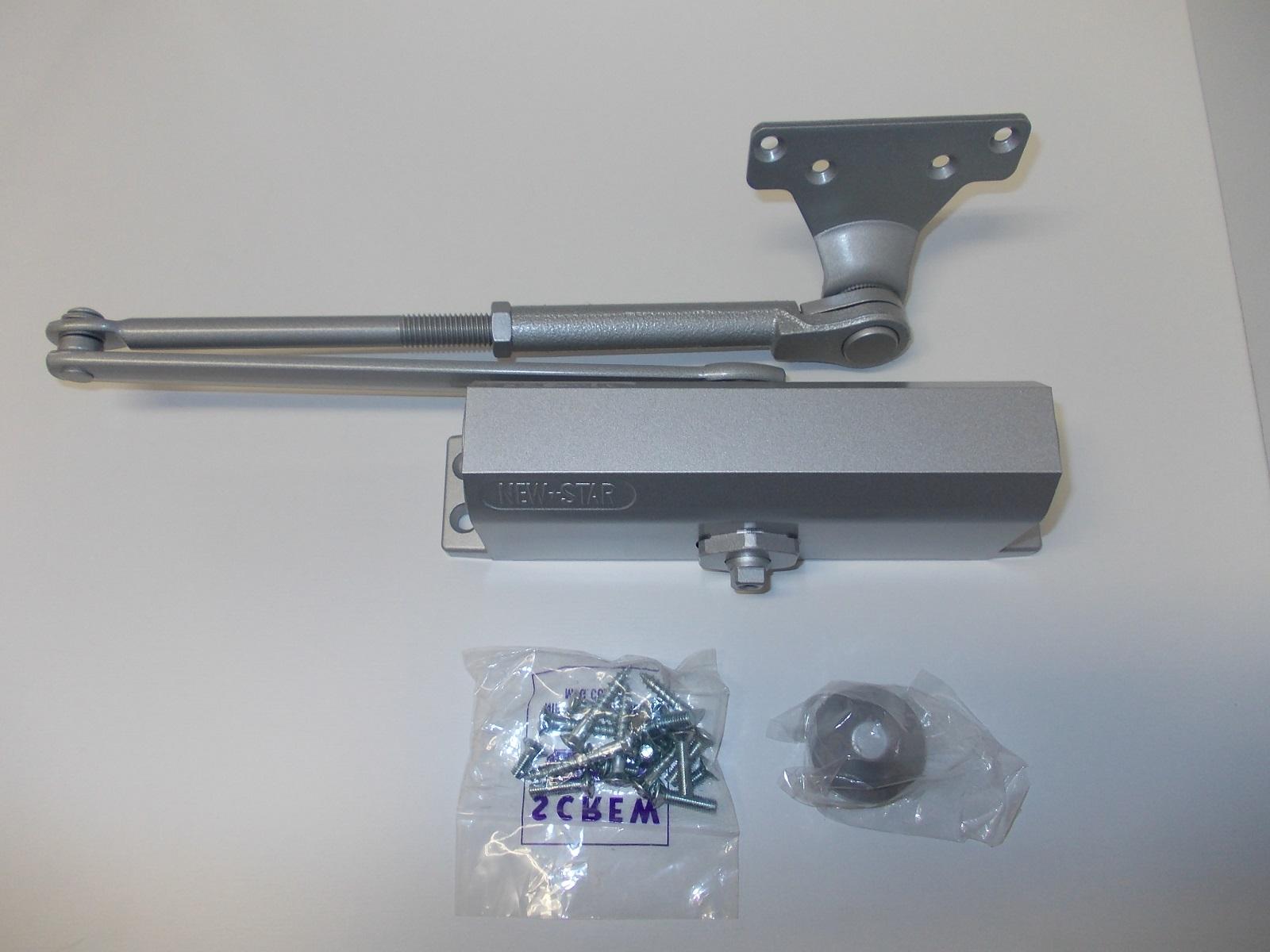 機能性を重視した超ロングセラーのオーソドックスタイプ 買物 NEWSTAR ニュースター ドアクローザ セール パラレル型 P182 ストップ付き