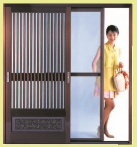SEIKI セイキ 風丸  玄関引戸用網戸  SKM-1 引戸式パネル網戸