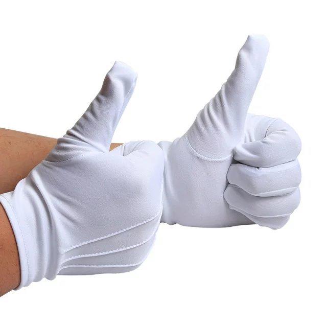 選挙 結婚式 作業 フォーマル 冠婚葬祭 運転 手ふり 握手 保護 安全 安全対策 人気 てぶくろ 希少 水洗い可 紳士 スリット無し 10双組セット ナイロン 白 mmk-h01 手袋 ふ gloves 送料無料 グローブ