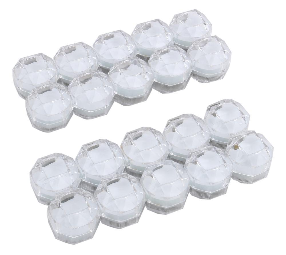 リングケース ジュエリーケース 透明 宝石箱 ほうせきばこ リング箱 Jewelry 国内送料無料 ring20個セット 20個セット 送料無料 case mmk-i15 お得 お メーカー直送