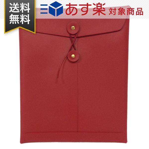 【P最大25倍&お得なクーポン 3/11まで】 ジービービー gbb ipad ケース カバー Custom Leather カスタムレザー レザー アイパッド カバー Envelope iPad Case クラッチ バッグ gbb ipad red