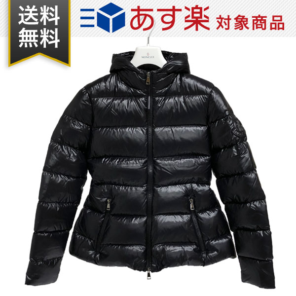 モンクレール レディース ダウンジャケット サイズ2(L) MONCLER E2 093 4693300 C0064 999 RHIN ブラック