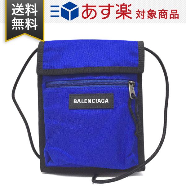 バレンシアガ バッグ エクスプローラー ポーチ ストラップ BALENCIAGA 532298 9TYY5 4060 斜め掛け ショルダーバッグ ブルー