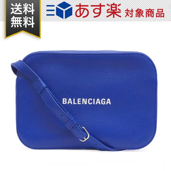 バレンシアガ バッグ エブリデイ カメラ バッグ S BALENCIAGA 552370 D6W2N 4265 レディース 斜め掛け ショルダーバッグ レザー ブルー