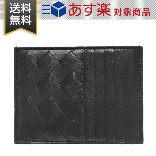 ボッテガヴェネタ カードケース兼コインケース クラシック イントレチャート BOTTEGA 635043 VCPP3 8803 レディース メンズ ブラック