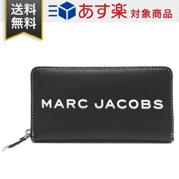マーク ジェイコブス 財布 メンズ レディース Marc Jacobs M0014868 001 THE TEXTURED TAG STANDARD CONTINENTAL WALLET ラウンドファスナー 長財布 レザー ブラック