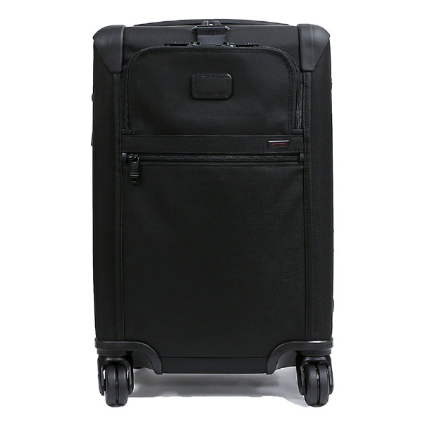 "TUMI tumi""阿尔法2""4轮旅行箱国际扩张器斗牛犬4 uirukyarion ALPHA2 BALLISTIC TRAVEL INTERNATIONAL EXPANDABLE 4 WHEELED CARRY-ON BLACK黑色黑22060D2"