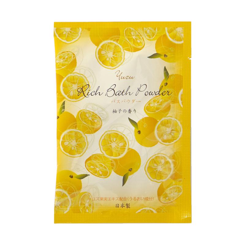 【1個22.5円】リッチバスパウダー20g(柚子の香り)× 400個