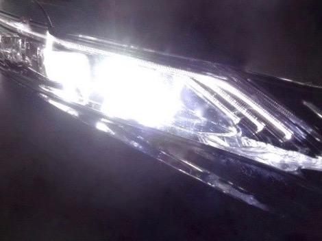 60系ハリアー LEDハイビームライト Bright 新作送料無料 C.S.P Led 4000lm 60 AVU65 至高 前期 6500K ZSU6# HARRIER