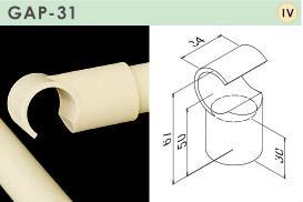 TMEH プラスティックジョイント GAP-31-IV