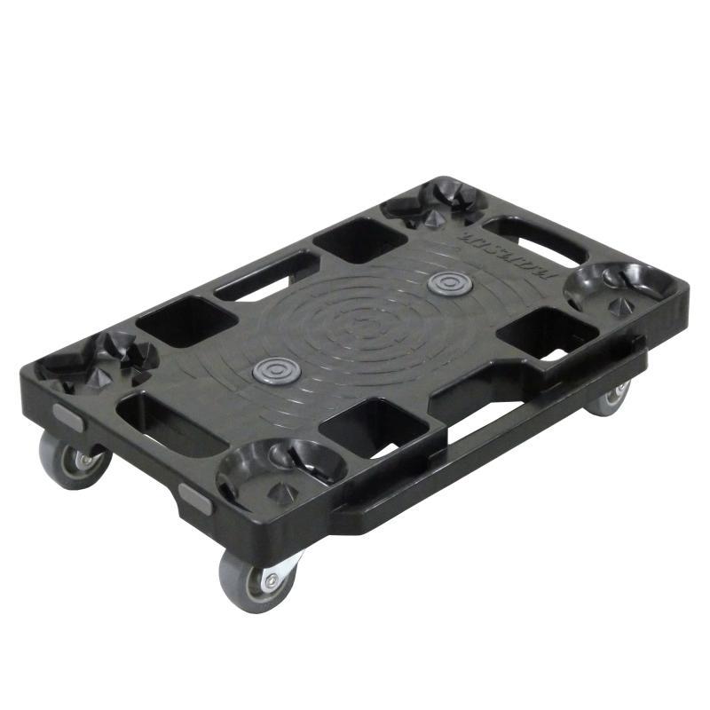 ナンシン 樹脂連結ドーリー×4台 PD-403-2SE 荷重120kg コンパクト 平台車 筋トレ 体幹 ナンシン筋トレ