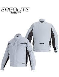 【ラッピング無料】マキタ 充電式ファンジャケット ERGOLITE 立ち襟 FJ213DZ (サイズLL)