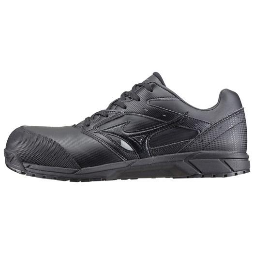 【ラッピング無料】ミズノ オールマイティCS 09ブラック C1GA171009 安全靴 ワークシューズ ユニセックス