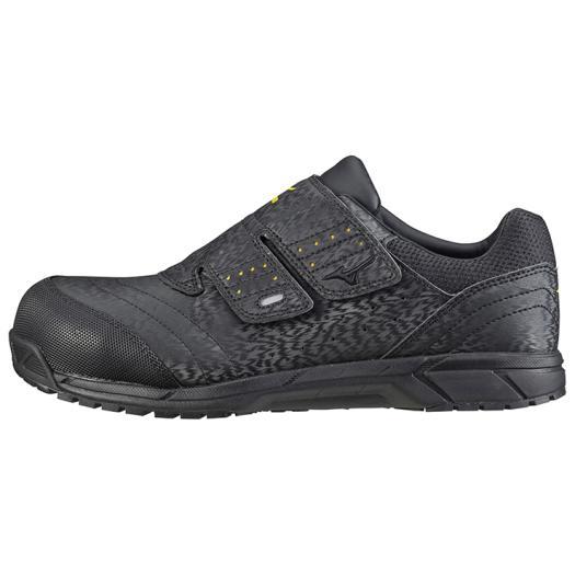 【ラッピング無料】ミズノ オールマイティAS 09ブラック C1GA181109 安全靴 ワークシューズ ユニセックス