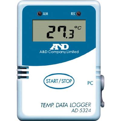 【ラッピング無料】エー・アンド・デイ A&D 温度データーロガー 4000メモリー AD5324